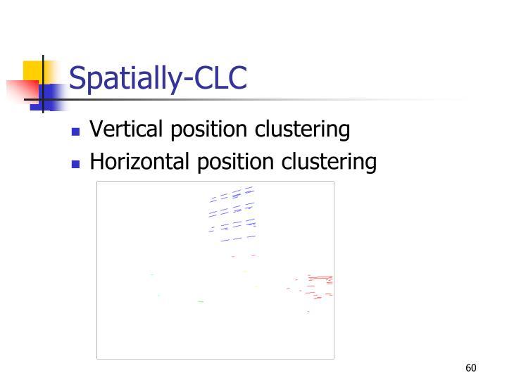 Spatially-CLC
