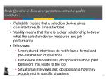study question 2 how do organizations attract a quality workforce5