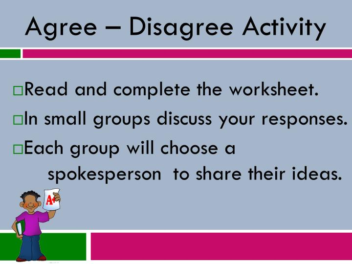 Read and complete the worksheet.