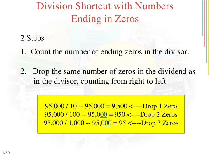 Division Shortcut with Numbers