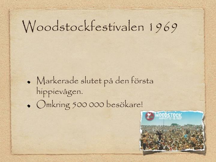 Woodstockfestivalen 1969