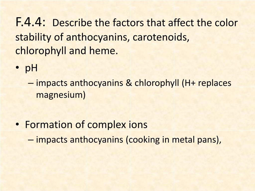 PPT - Food Chemistry PowerPoint Presentation - ID:2768316