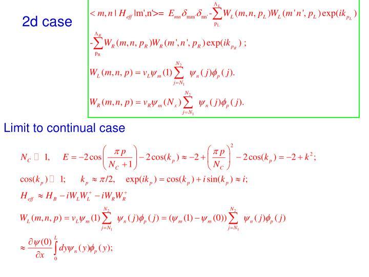 2d case