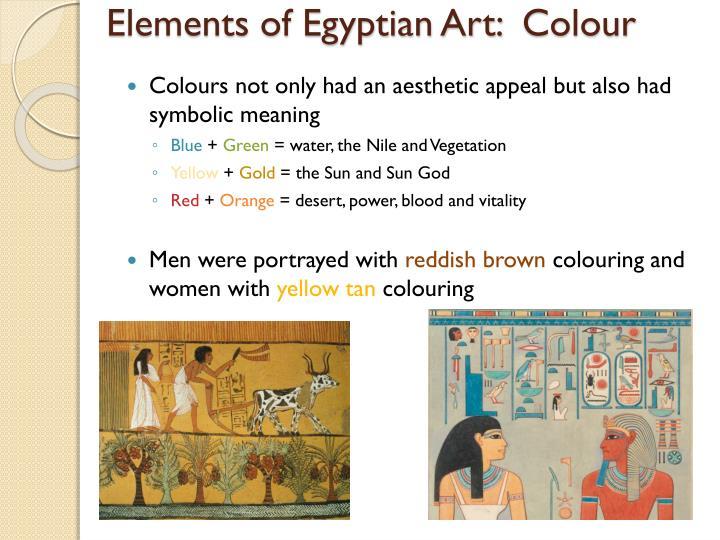 Elements of Egyptian Art: