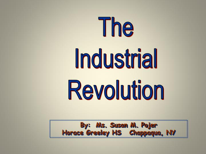 the industrial revolution a bloodless conflict