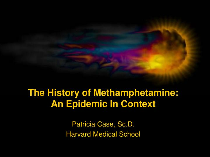 methamphetmines an epidemic Narrator: the human cost of the epidemic has been staggering when frontline filmed here back in 2005, more than half of the inmates in portland jails were meth users.