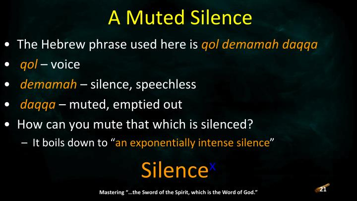 A Muted Silence