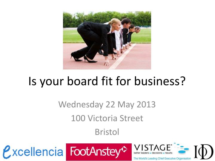 Is your board fit for business?