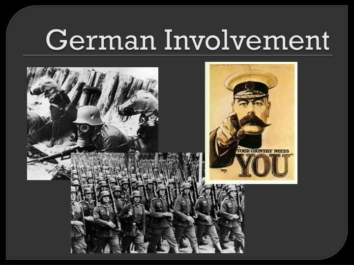German involvement