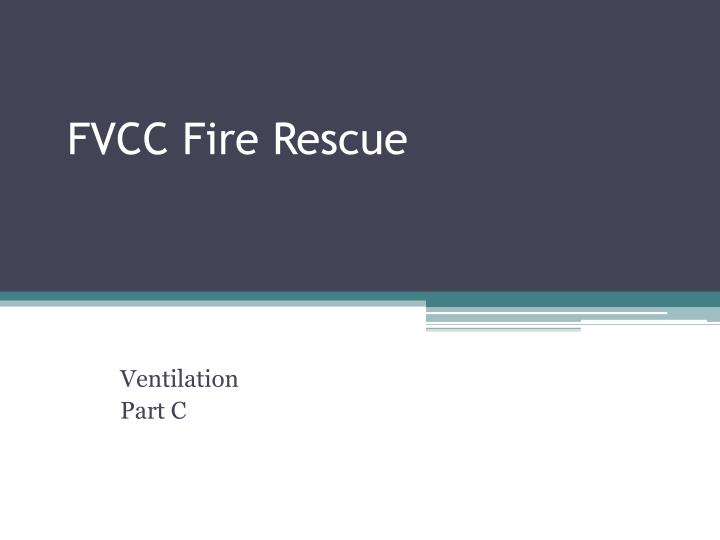 fvcc fire rescue n.