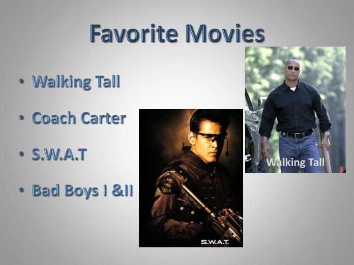 Favorite Movies