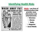 identifying health risks5