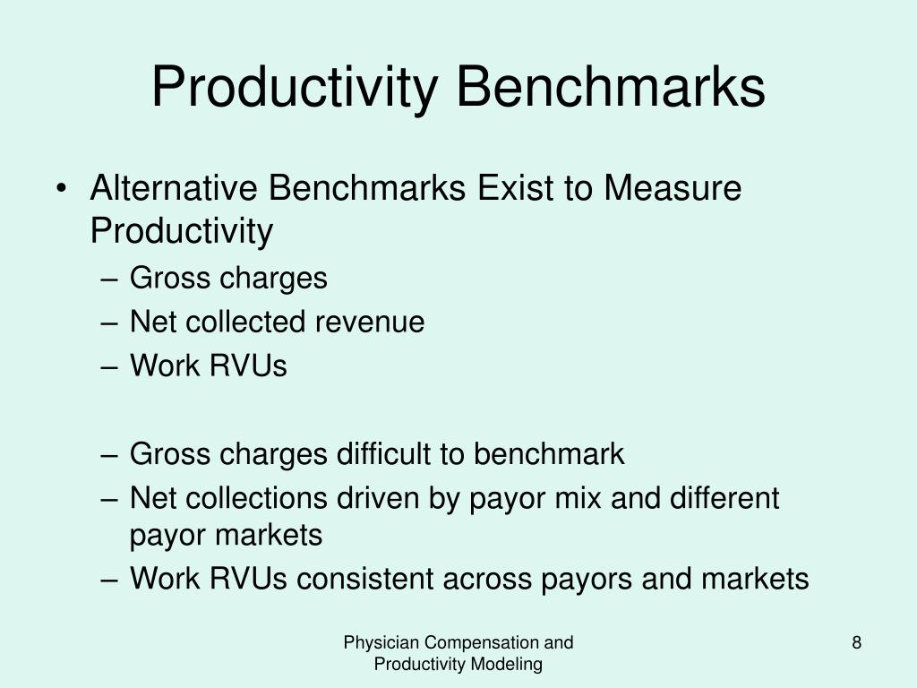PPT - PHYSICIAN COMPENSATION AND PRODUCTIVITY MODELING PowerPoint