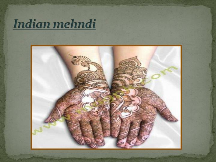 Mehndi Hands Powerpoint : Ppt mehndi henna powerpoint presentation id