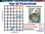 high qe photocathode