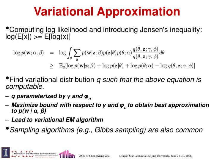 Variational Approximation
