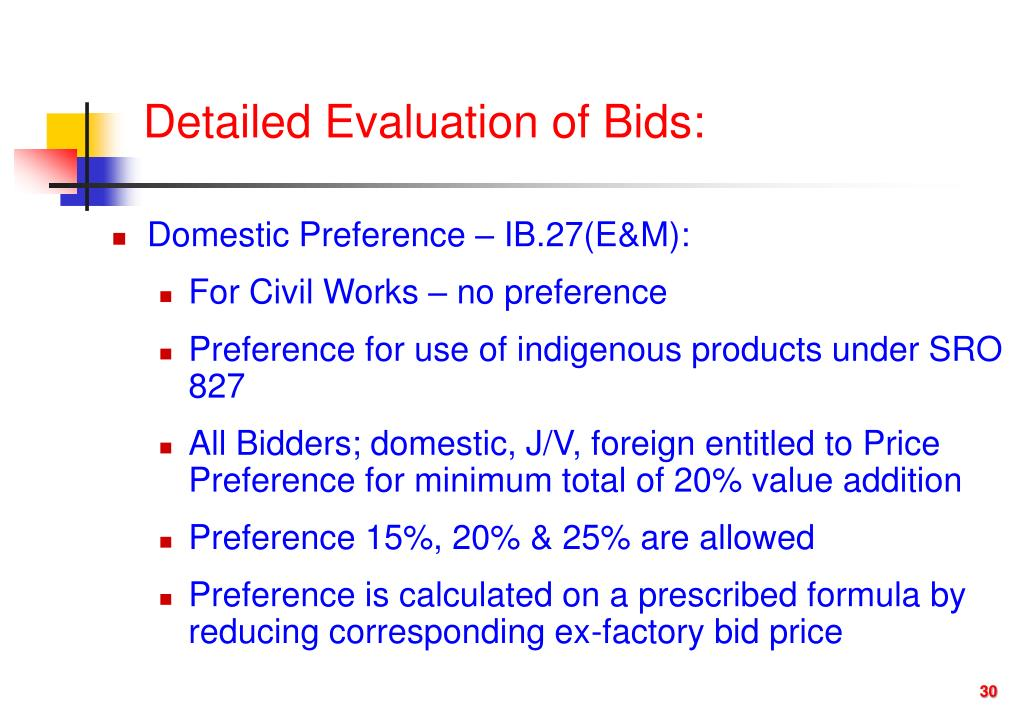 """PPT - LECTURE ON: """"Bid Evaluation and Award of Contract"""" By"""