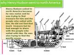 why henry hudson went to north america