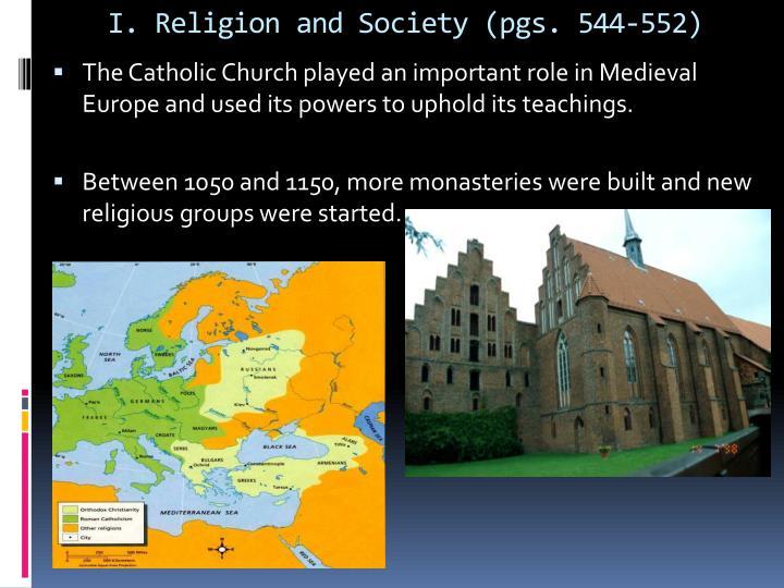I religion and society pgs 544 552