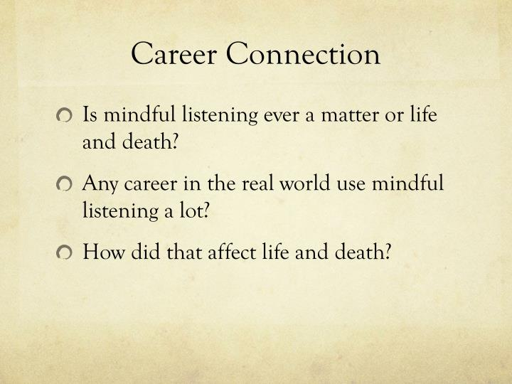 Career Connection