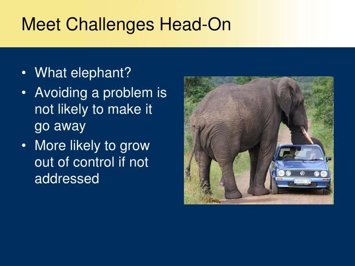Meet Challenges Head-On