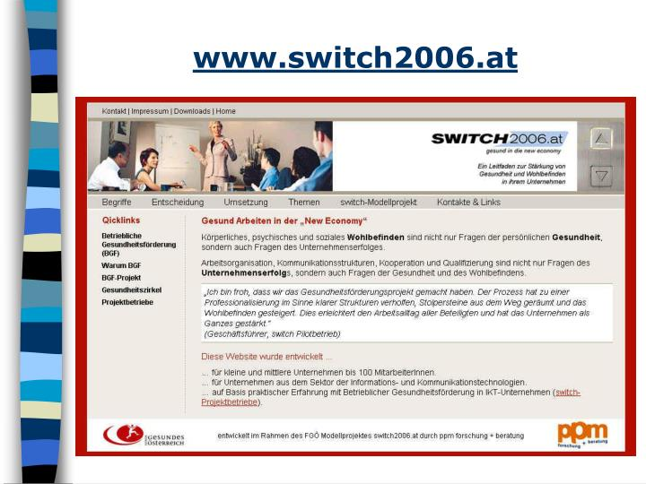 www.switch2006.at