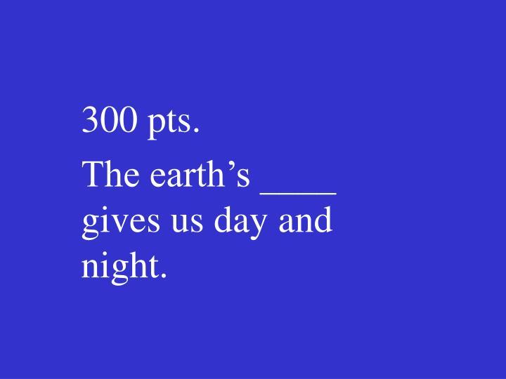 300 pts.