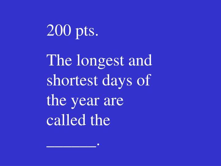 200 pts.