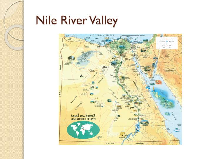 Nile river valley