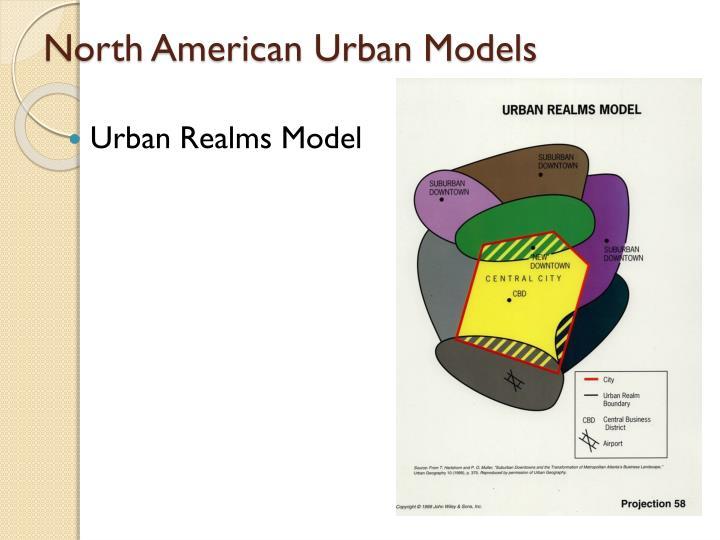 North American Urban Models