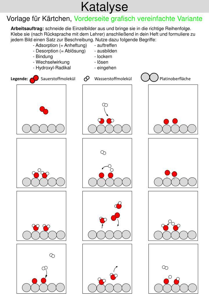 PPT - Katalyse (Arbeitsblatt) PowerPoint Presentation - ID:2772590