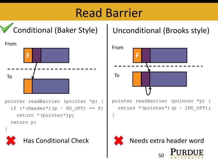 Read Barrier