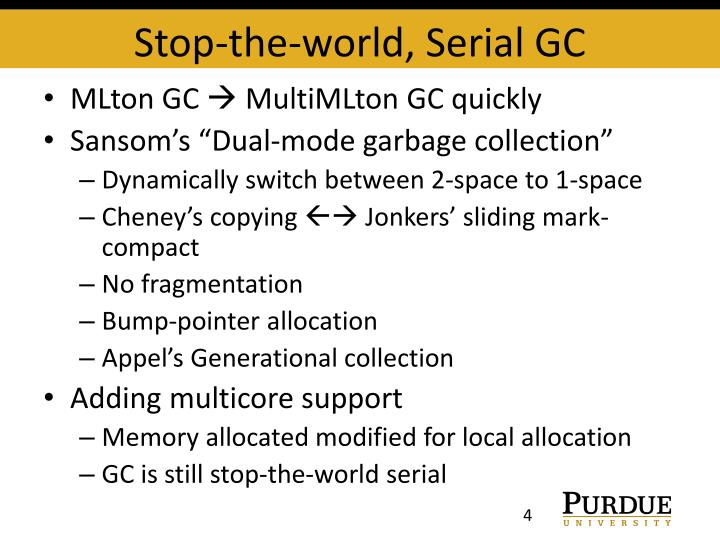 Stop-the-world, Serial GC