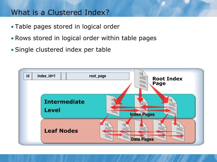 What is a Clustered Index?