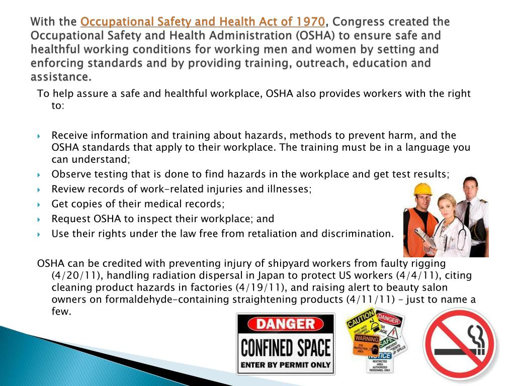 Try These Occupational Health And Safety Administration