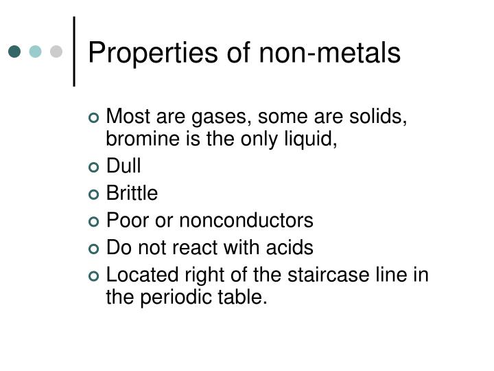 Ppt elements and the periodic table powerpoint presentation id properties of non metals urtaz Images