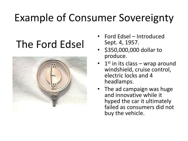 Ppt Consumer Sovereignty Powerpoint Presentation Id2773110