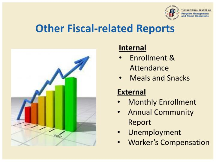 Other Fiscal-related Reports
