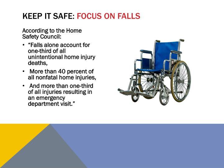 Keep it safe: