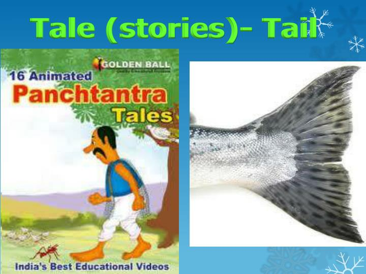 Tale (stories)- Tail