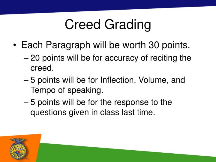 Ffa Creed 2st Paragraph