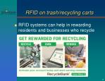 rfid on trash recycling carts