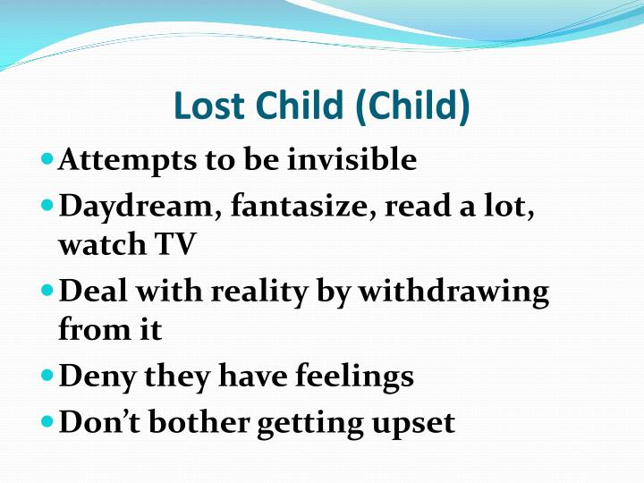 Lost Child (Child)