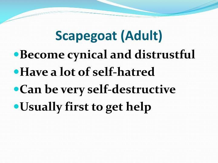Scapegoat (Adult)