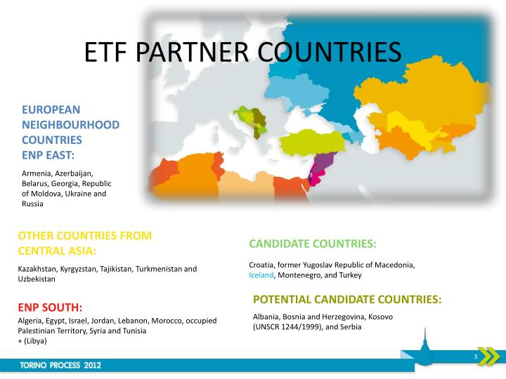 Etf partner countries