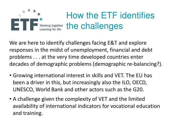 How the ETF