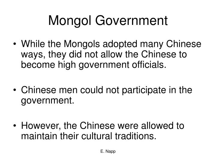 Mongol Government