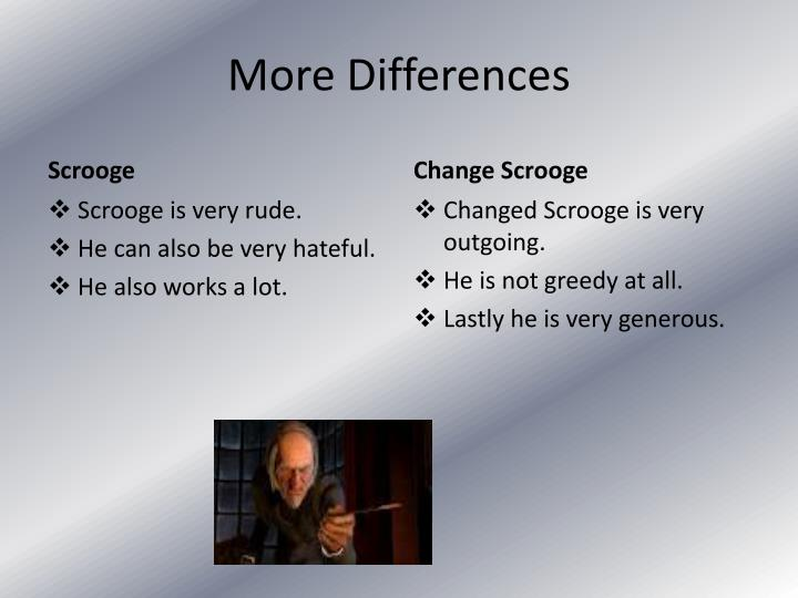 More Differences