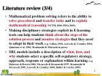 literature review 3 4