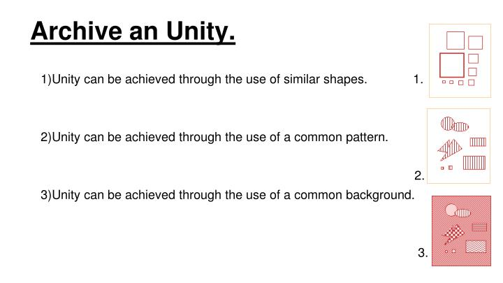 Archive an Unity.